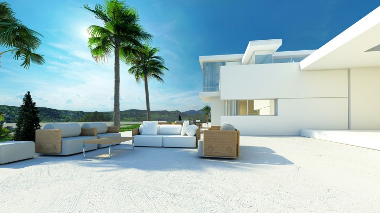Luxury villa costa del sol
