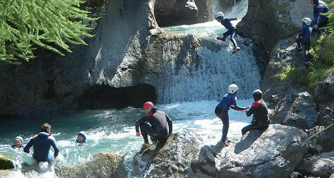 Benahavis canyoning