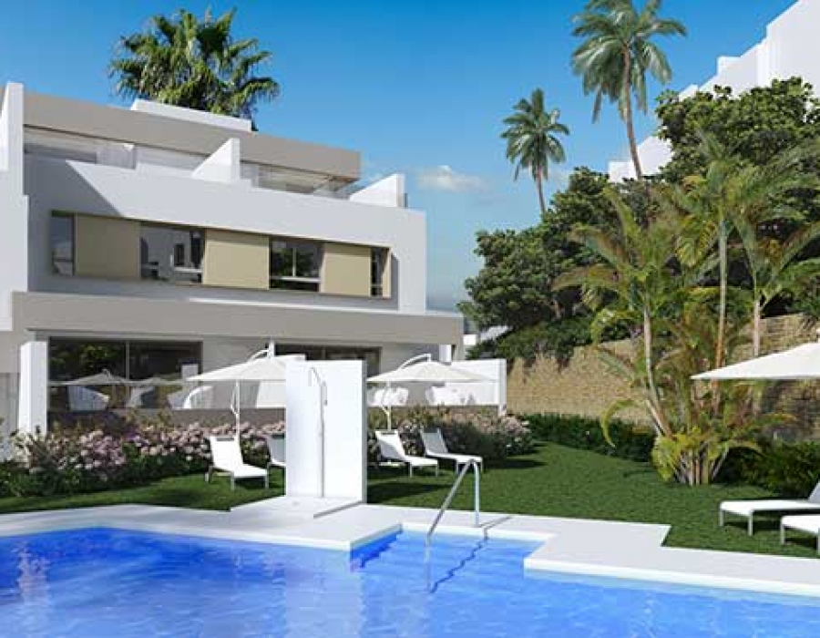 New development of apartments, penthouses and townhouses in Mijas Costa