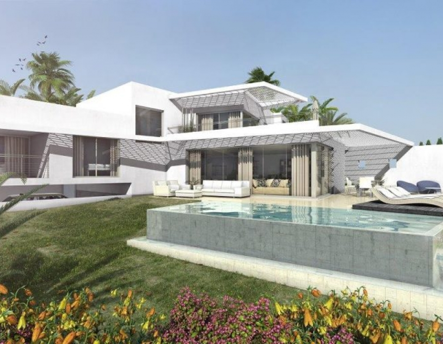 New development villa in Benalmadena / Nieuwbouw villa in Benalmadena