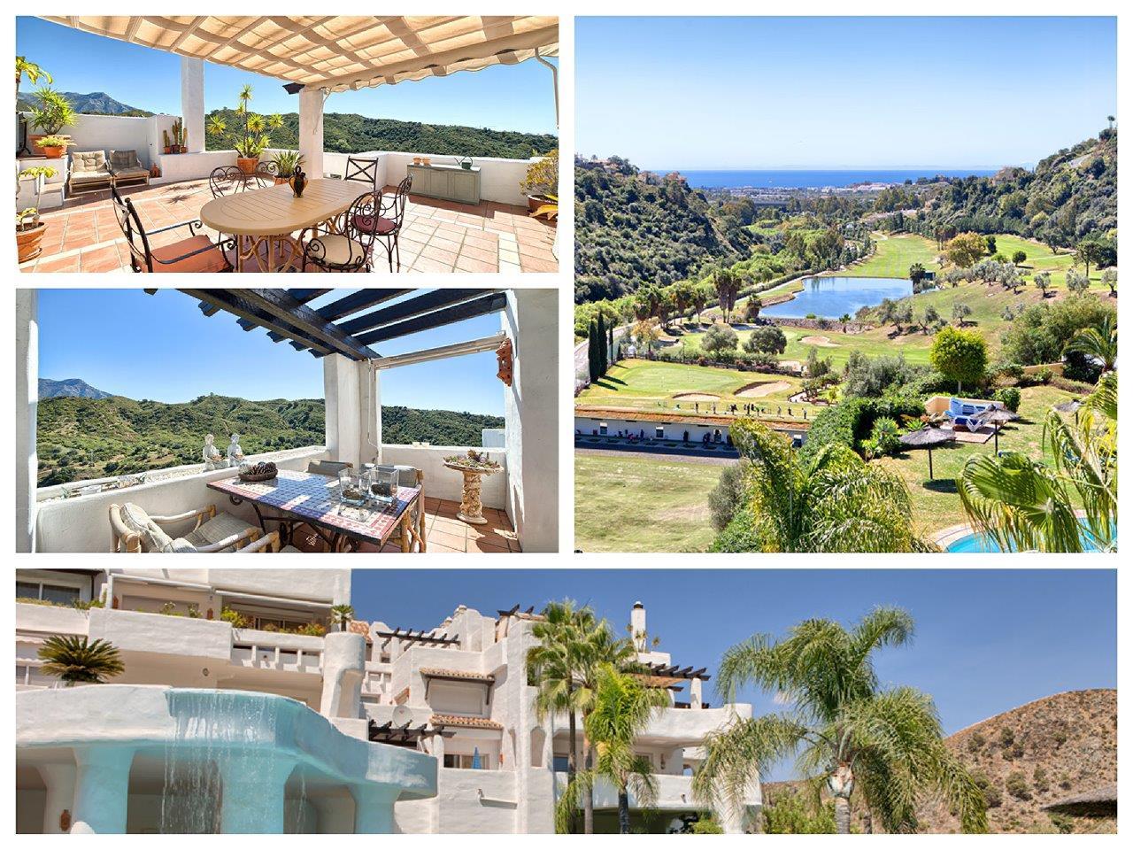 penthouse for sale in Benahavis Lomas de la Quinta