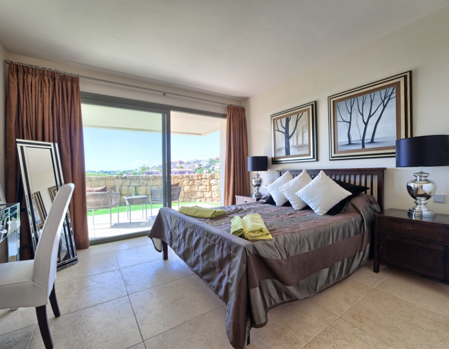 Apartment for sale in Benahavis Los Flamingos Golf