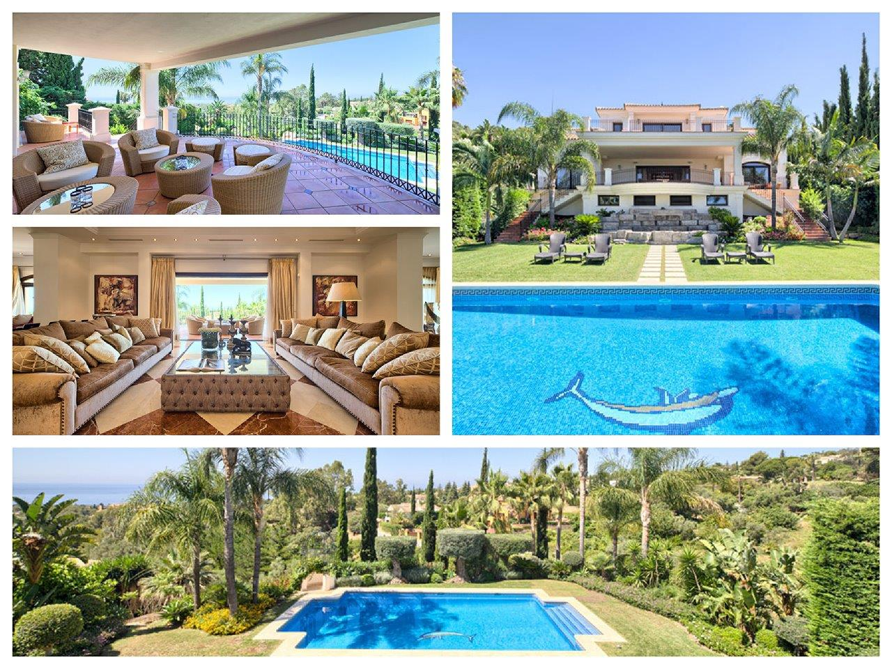 Luxury villa for sale in Marbella Cascada de Camojan