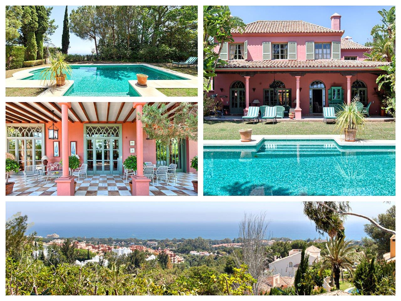 Vrijstaande villa te koop in Marbella Hacienda Las Chapas