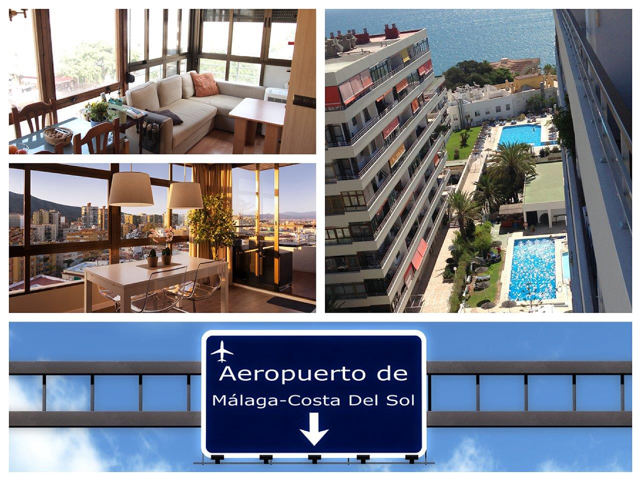 Corner apartment in Torremolinos for sale (La Nogalera)