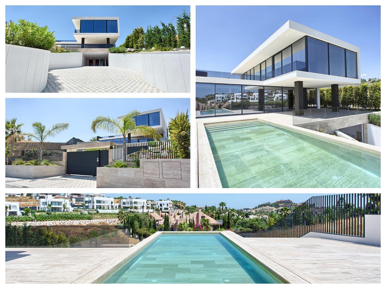 Contemporary villa in Nueva Andalucia for sale