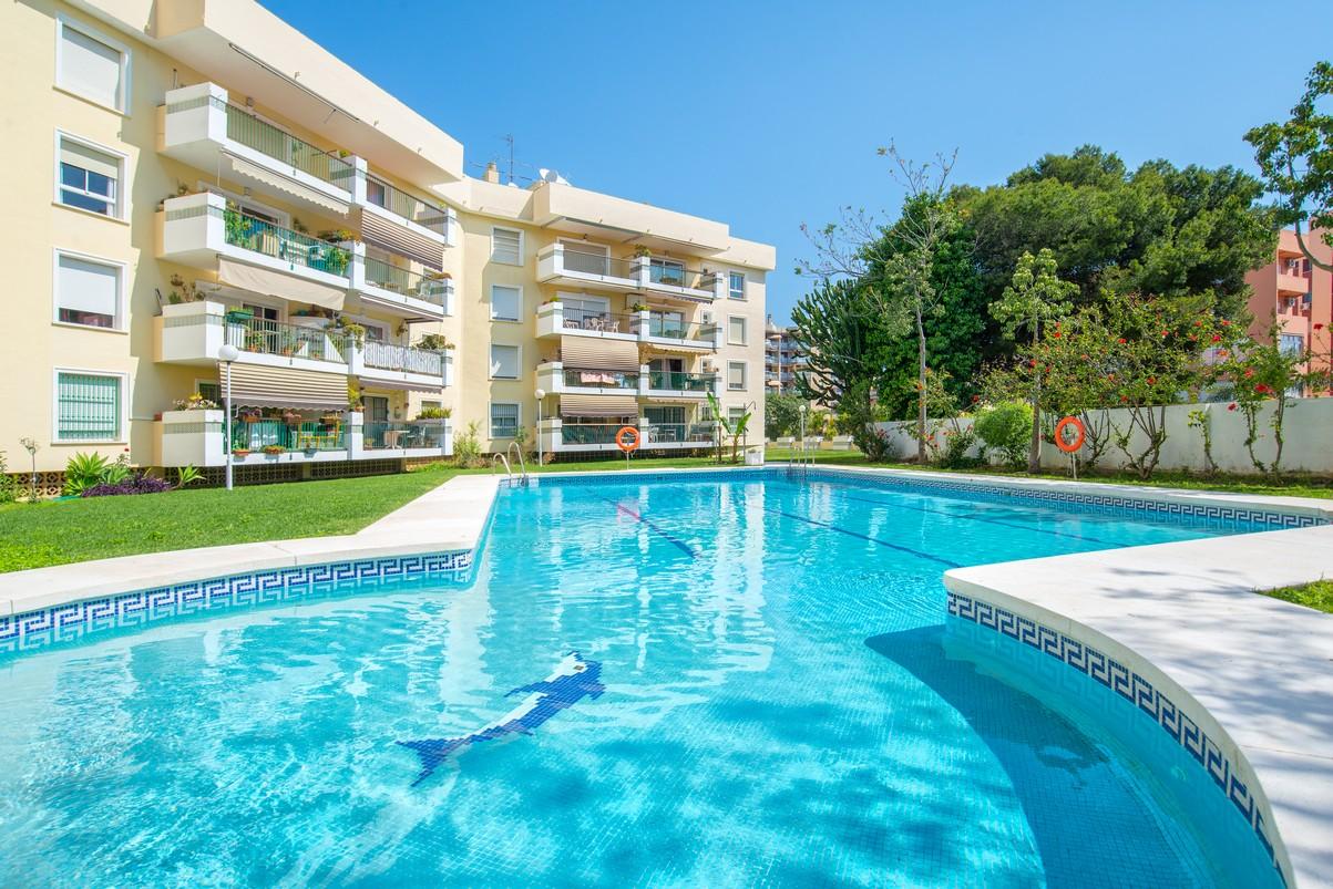 Swimming pool in Torremolinos