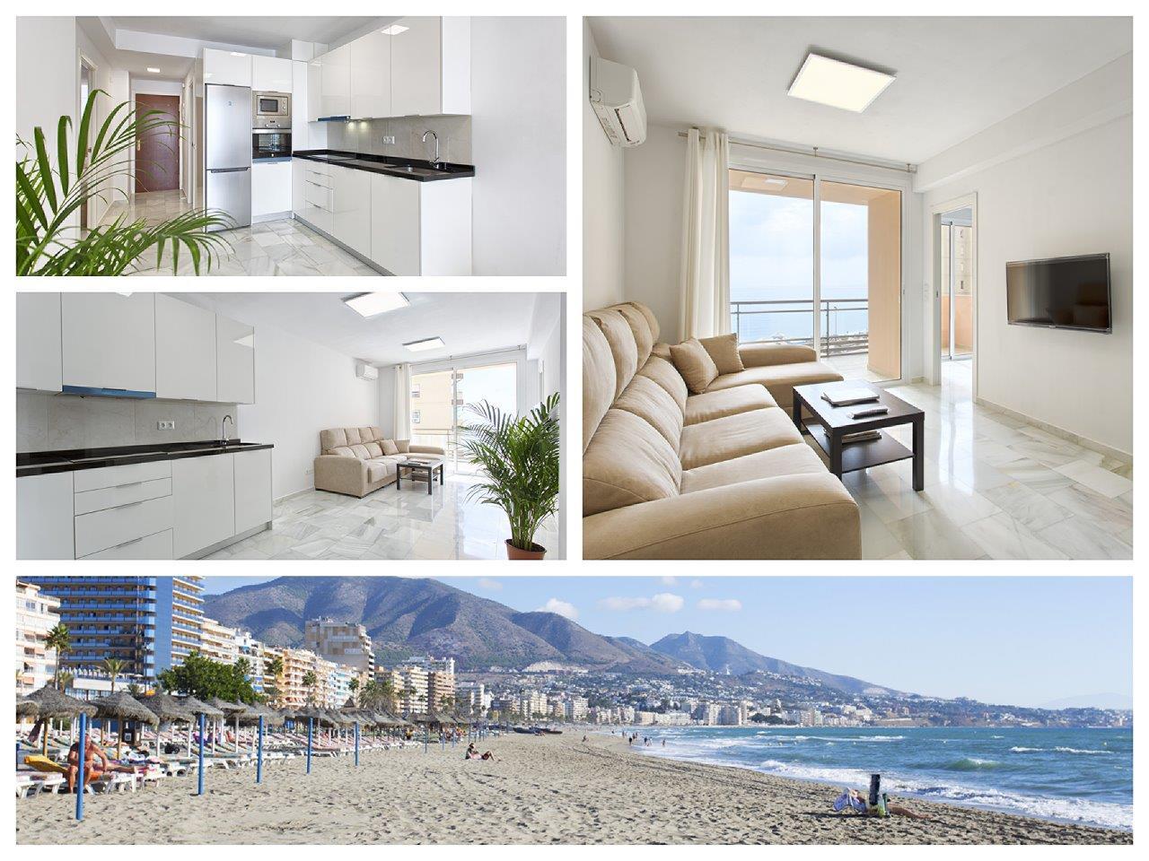 Strand appartement in Fuengirola te koop