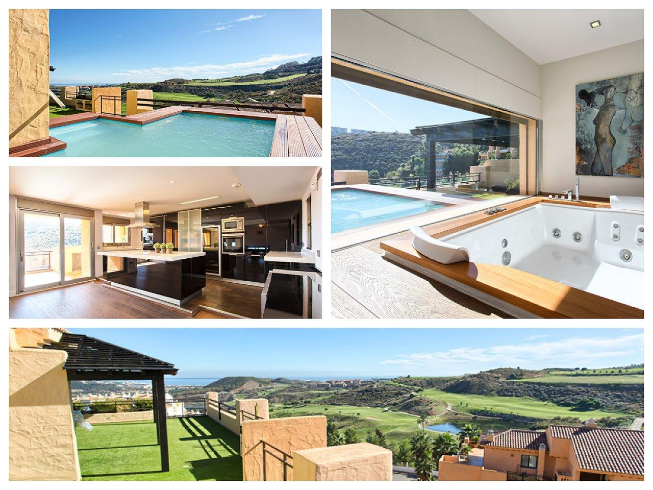 Penthouse in Mijas Costa - Calanova Sea Golf te koop