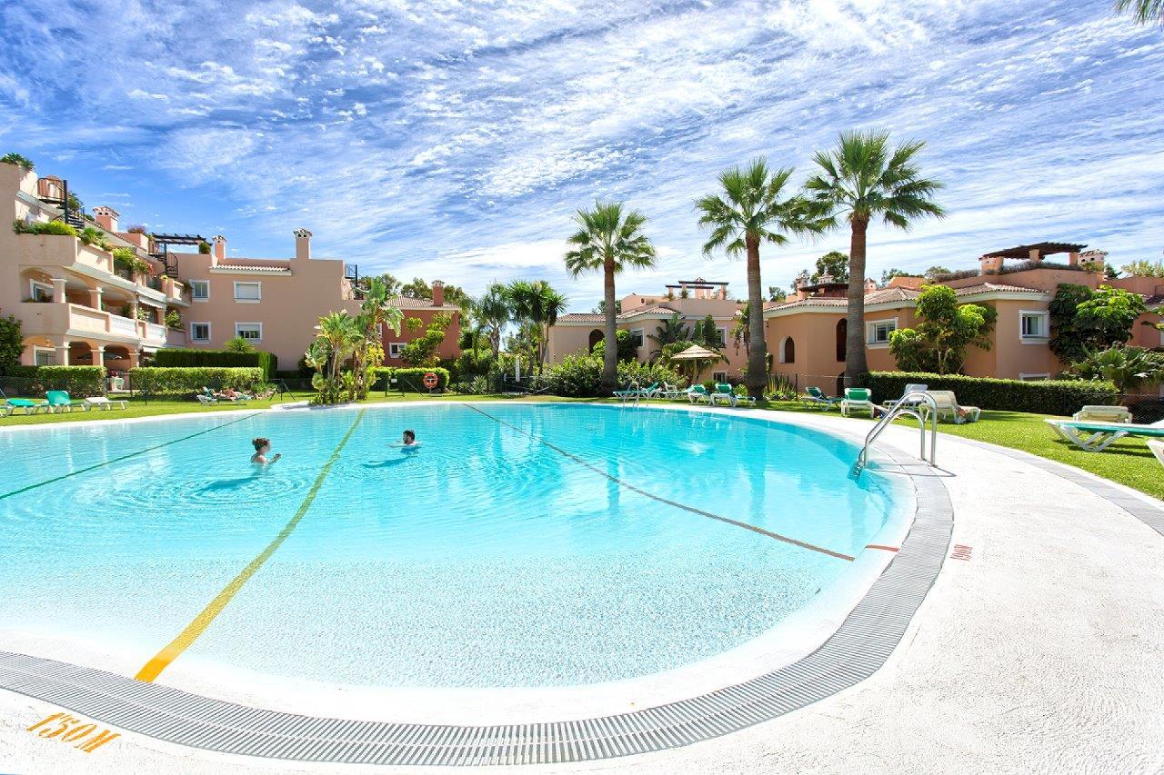 Communal swimming pool in Estepona