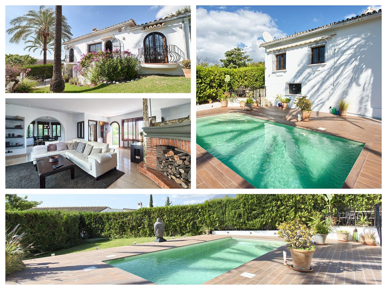 Detached villa in Las Lomas Estepona for sale