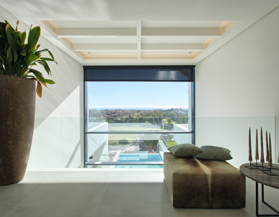 Contemporary villa in Benahavis - La Alqueria for sale