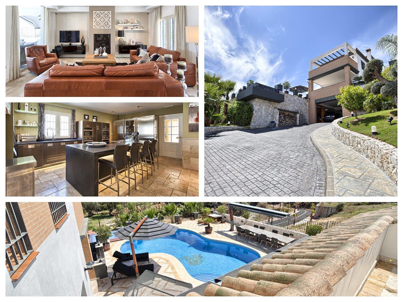 Luxe villa te koop in Benalmadena Costa